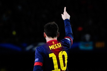 Messi abriu caminho para a virada do Barcelona(Getty Images)